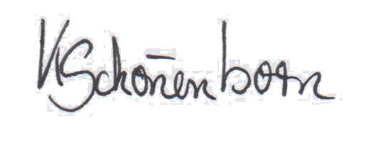 Unterschrift Kürzel